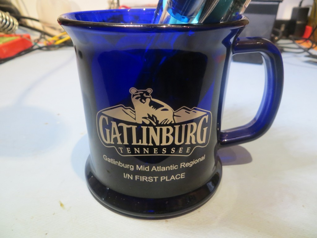 Gatlinburg Regional Mug/Pencil Holder