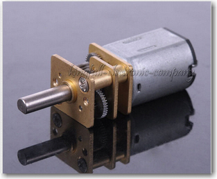 Very small 100RPM geared DC motor.  See http://www.ebay.com/itm/1Pcs-6V-100RPM-Micro-Torque-Gear-Box-Motor-New-/291368242712