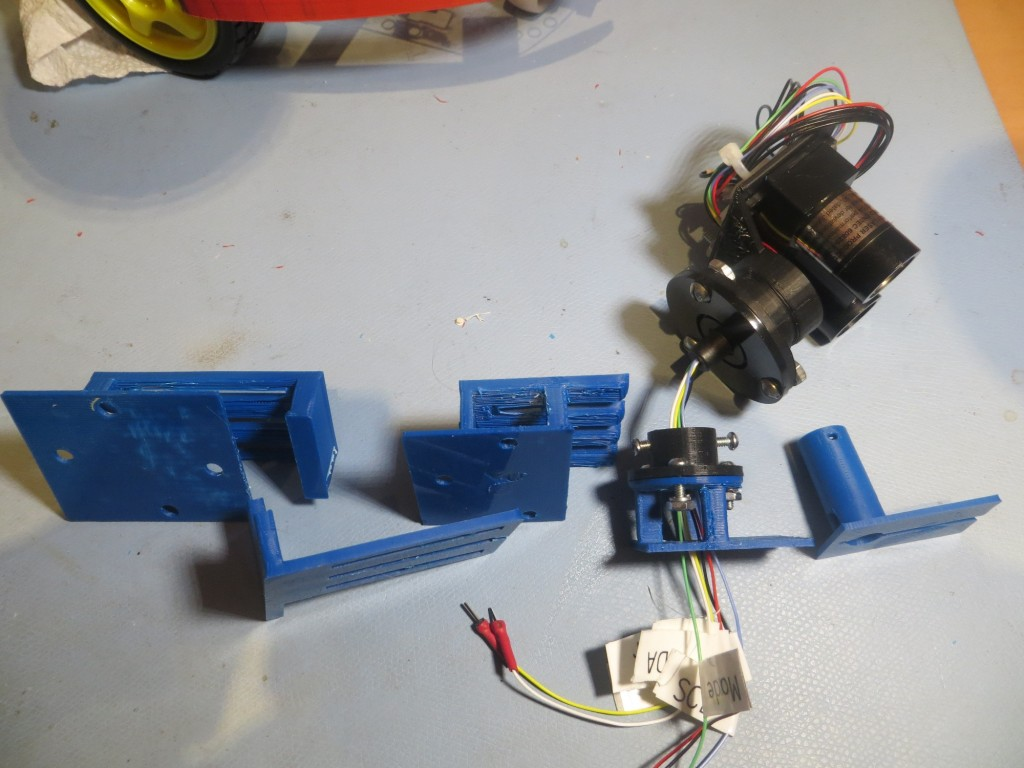 Evolution of the slide mount for the LIDAR slip ring assembly