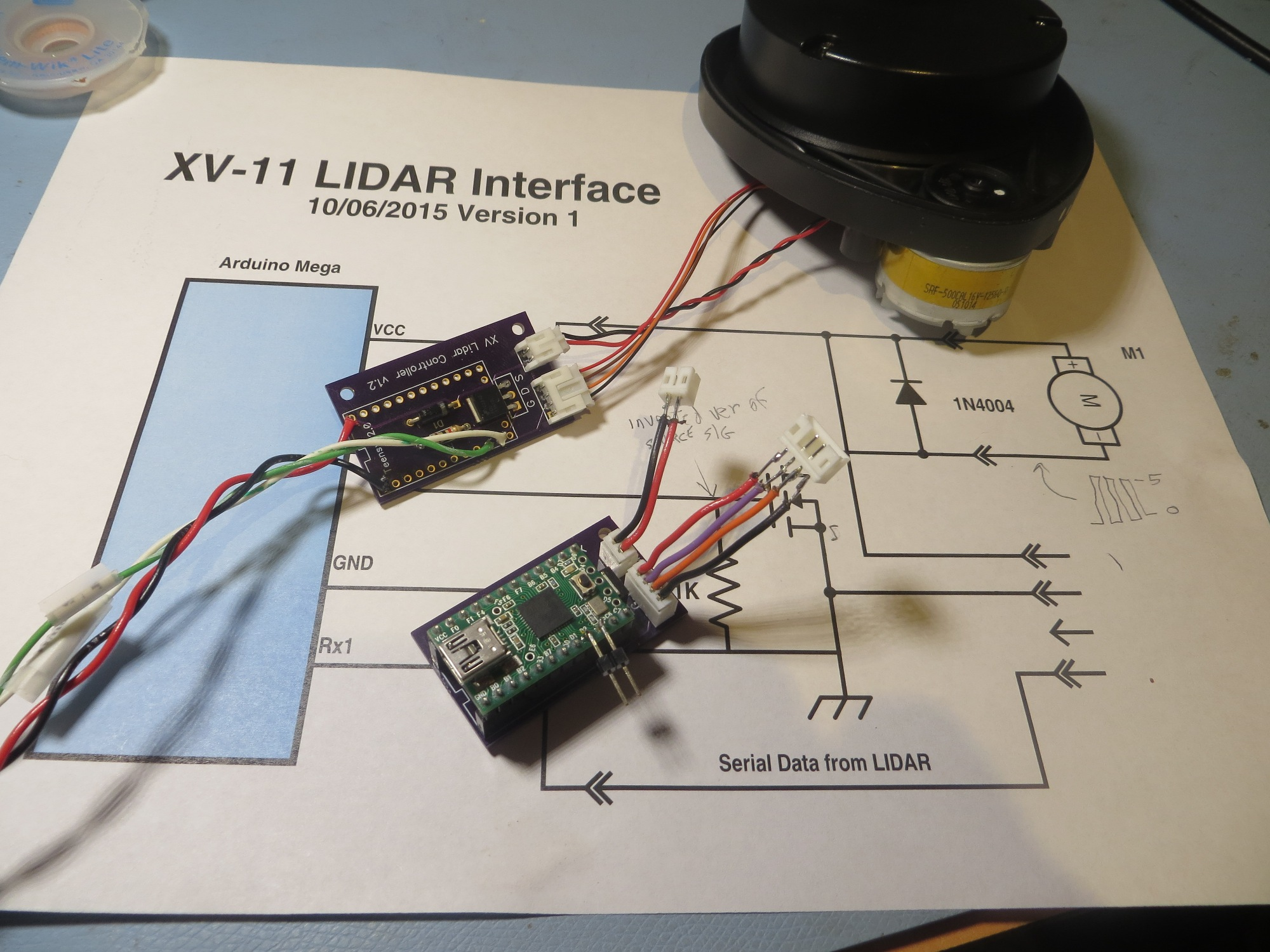 Building Up The New 4wd Robot - Part 1