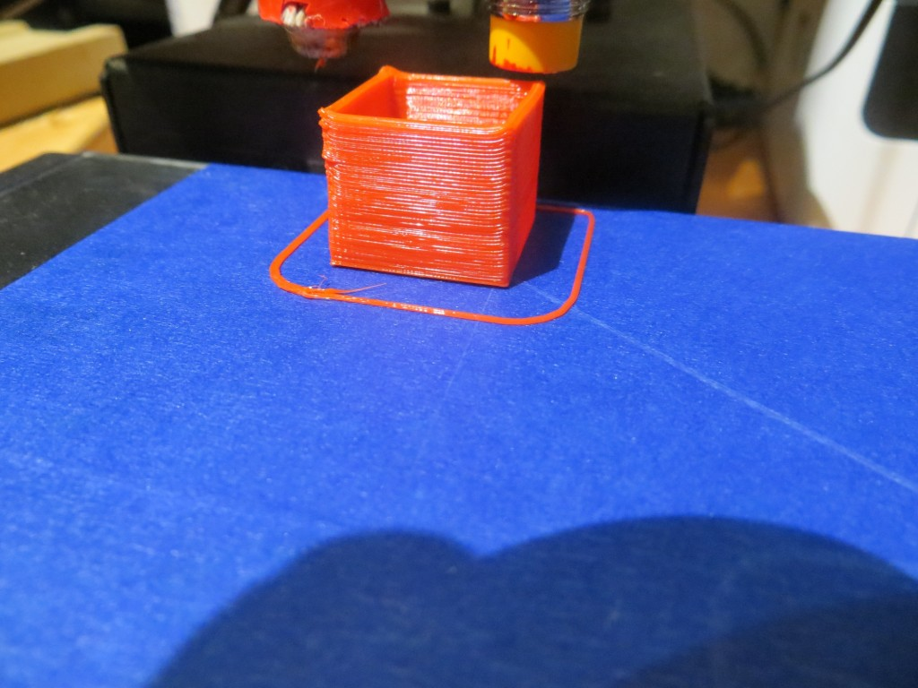 20mm cal cube printed at the rear left corner (0,153)