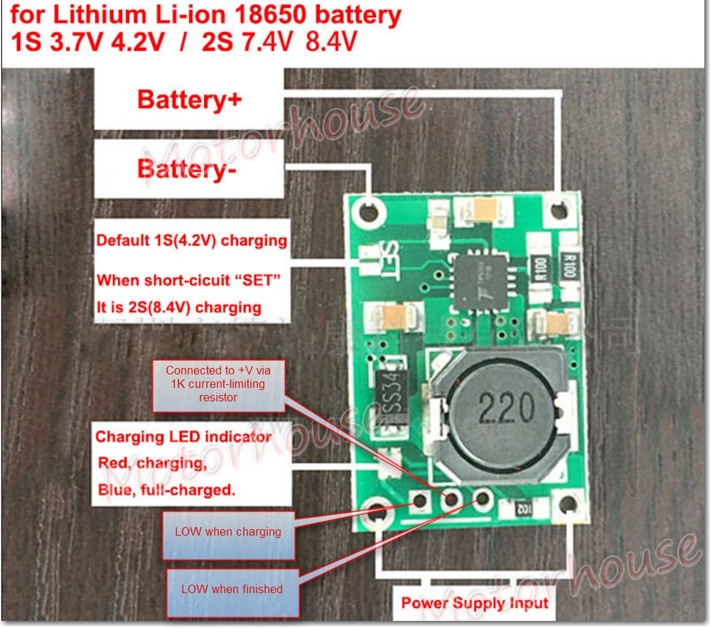 Tp5100 2 Cell Lipo Charger Module Study Paynters Palace Lithium Battery Charging Constant Current Circuit Diagram Schematic So It Looks Like This Will Work Fine For My Application With The Addition Of An External Protection One